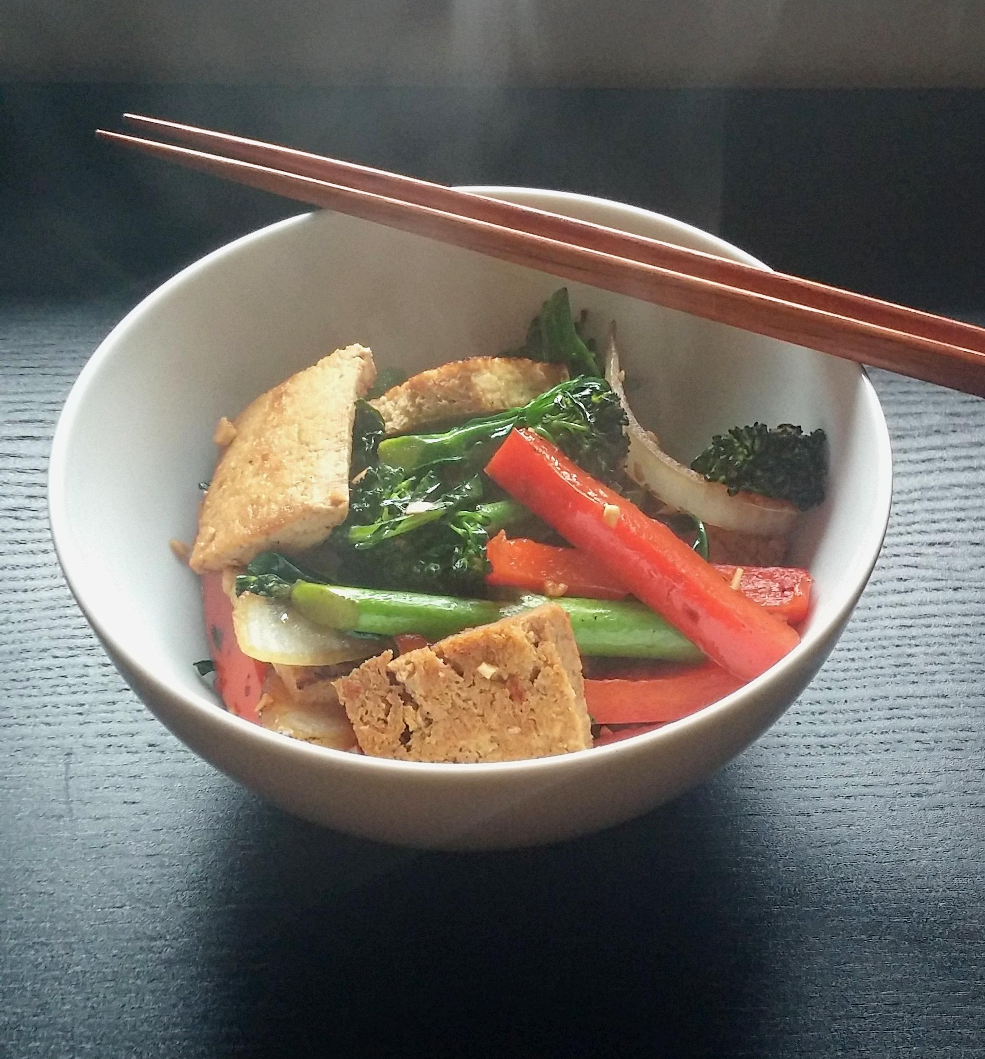 tofu broccoli stir fry2