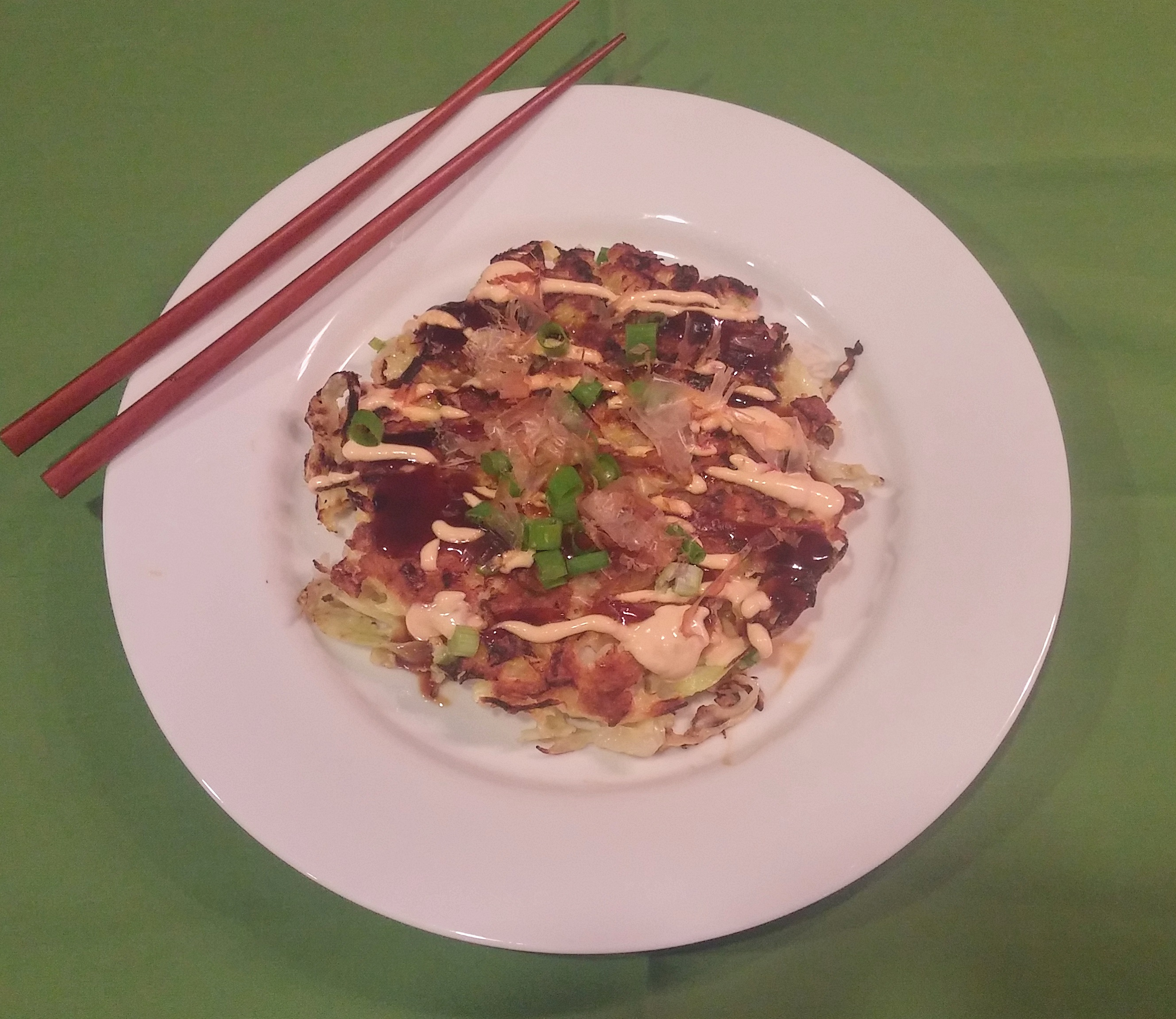 how to make japanese cabbage pancakes