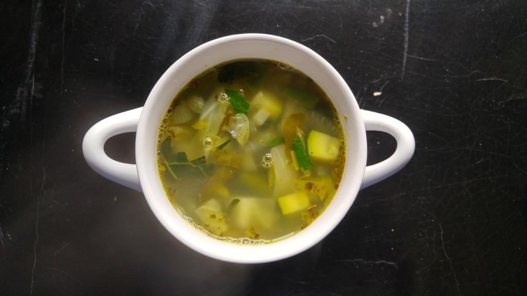green minestrone